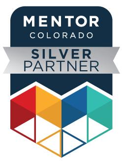 Mentor Colorado Silver Partner Badge