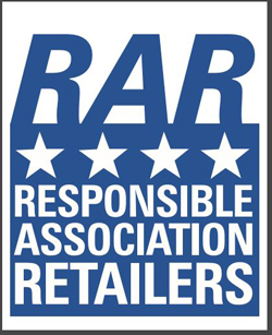 Responsible Association of Retailers (RAR) [Logo]
