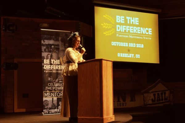 Executive Director Heather Vesgaard Addresses Be the Difference Attendees